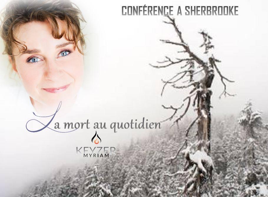 Conférence à Sherbrooke